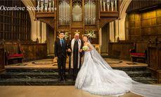巴黎教堂婚纱婚礼精品套餐