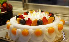 甜蜜蜜DIY八寸蛋糕