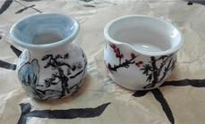 心港乐园陶艺作品釉烧体验