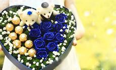 玫瑰传情高档节日礼物