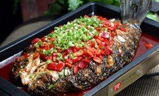 馋火炉鱼烤鱼3至4人餐