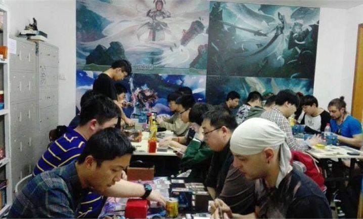 鑫梦桌游俱乐部