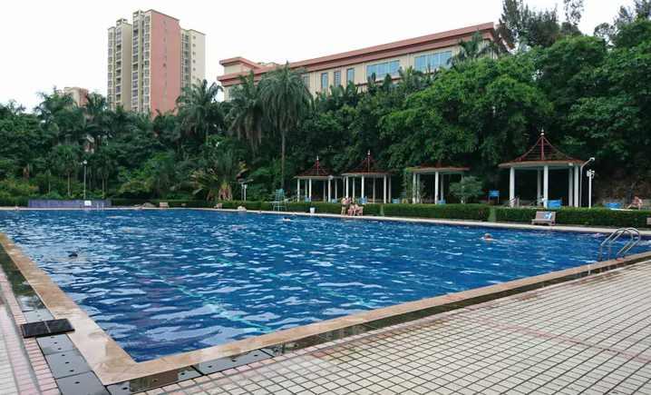 省干部疗养院游泳池