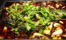 很久前烤串烤乌江鱼套餐