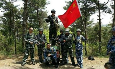 映山红唐人野战部落 - 大图