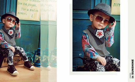 快乐频道专业儿童摄影