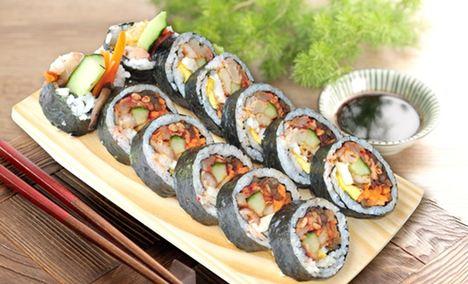 贞姬紫菜包饭