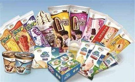 伊利冰淇淋图片