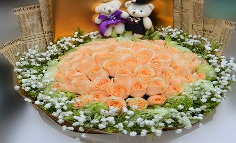 【推荐】仅售158元,价值378元香槟玫瑰1束!节假日通用,提前3小时预约!