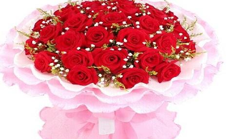 【推荐】仅售195元,价值368元33枝A级精品玫瑰!节假日通用,提前3小时预约!