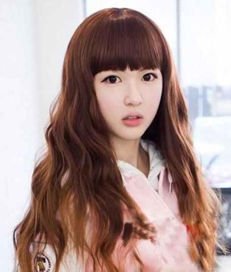 韩国色系头发