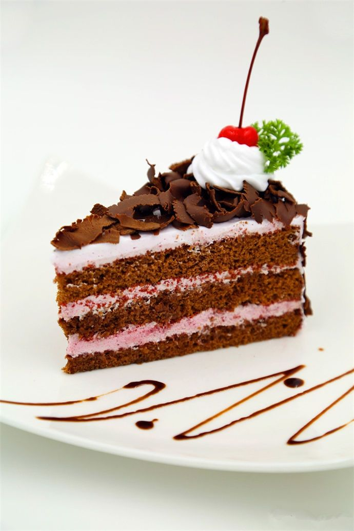 黑森林蛋糕(切块)图片