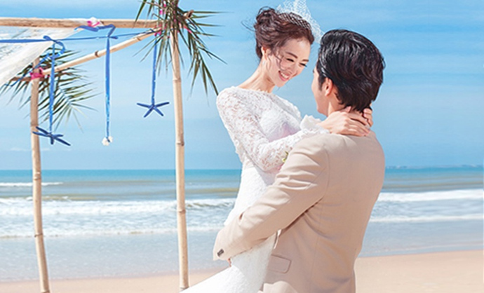 台北时尚婚纱摄影图片