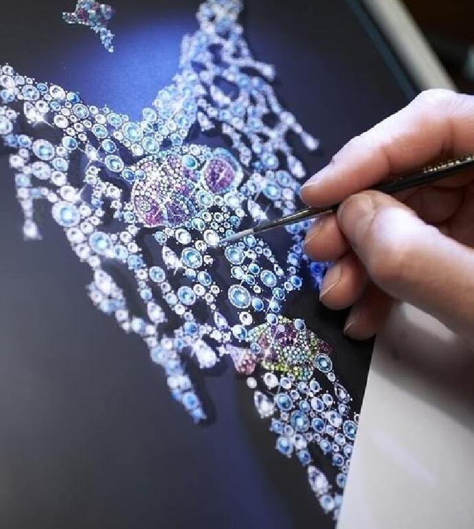 初级珠宝手绘设计师课程图片