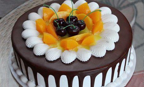 仅售59.9元,价值98元8英寸巧克力蛋糕!节假日通用,免费WiFi,需提前5小时预约!