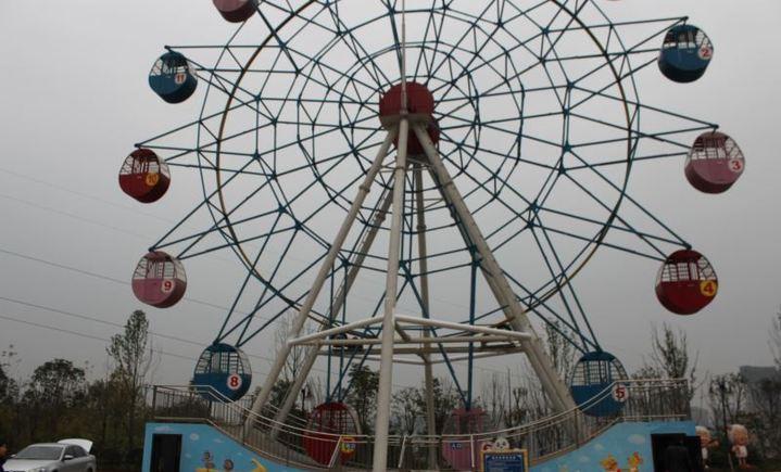 重庆乐迪森游乐园图片