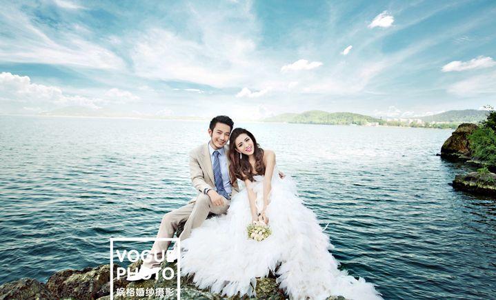武汉娲格婚纱摄影店图片