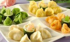 百味楼什锦海鲜饺子拼盘图片