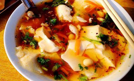 东石豆腐脑杭州小吃特色美食图片