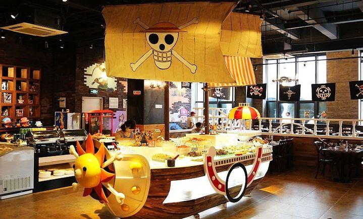 alllue海贼王海鲜自助主题餐厅