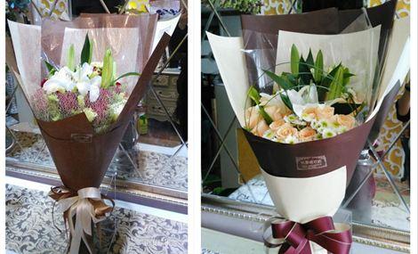 仅售209元,价值418元19朵多色玫瑰2朵百合花束!提供免费WiFi!需提前3小时预约!