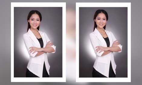 北京影楼个人写真发型