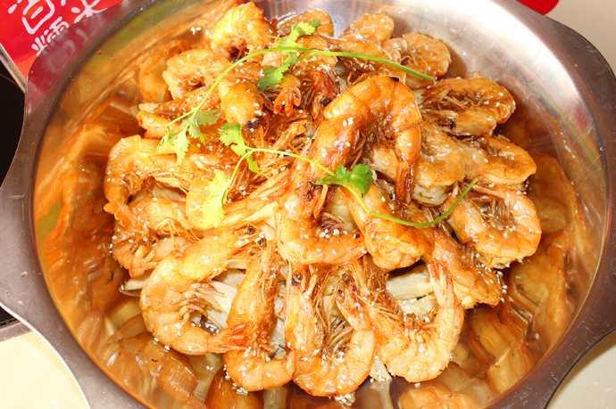 王婆大虾图片