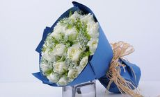 芙罗拉19枝玫瑰花束
