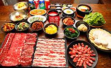 韩盛宫韩式烤肉4人餐