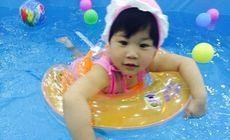 嫣然宝贝25次游泳卡