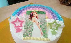 梦幻紫数码蛋糕