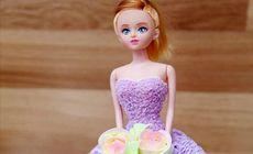 冠秋园芭比娃娃蛋糕