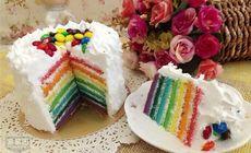 爱都8英寸彩虹蛋糕