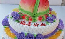 梦幻紫特惠三层蛋糕