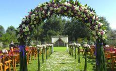 七棵树高尔夫草坪婚礼