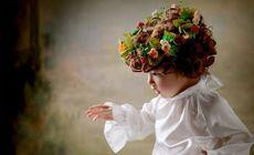 名媛四件服装儿童摄影