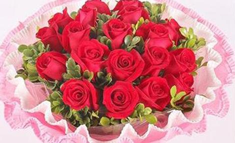 红玫瑰花屋
