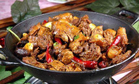 食运黄焖鸡米饭