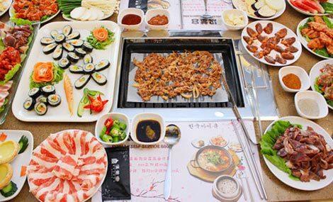 汉釜宫韩式自助烤肉(虎门购物中心店)