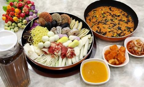 玛喜舍要韩国年糕料理