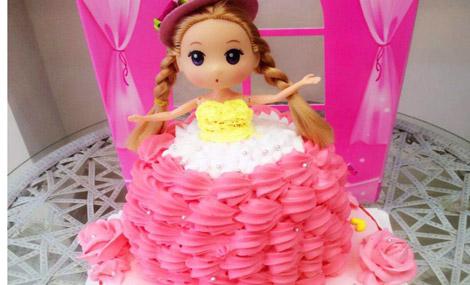 杰GO手工绘画蛋糕