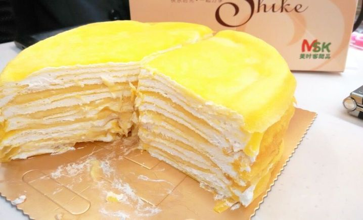 美时客千层蛋糕
