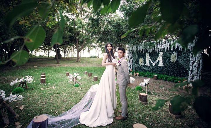 国爱婚庆森林系微婚礼图片