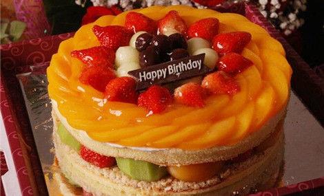 仅售138元,价值198元8英寸水果蛋糕!节假日通用,提供免费WiFi!