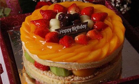 仅售75元,价值99元8英寸欧式水果蛋糕!节假日通用,提供免费WiFi!