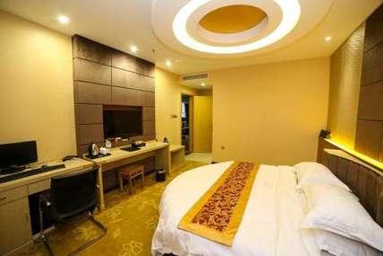 仅159元!价值189元的荆门市恒泰酒店主题圆床房入住1晚,免费WiFi。