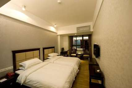仅148元!价值248元的潮州博莱雅酒店标准双人房入住1晚,免费WiFi。