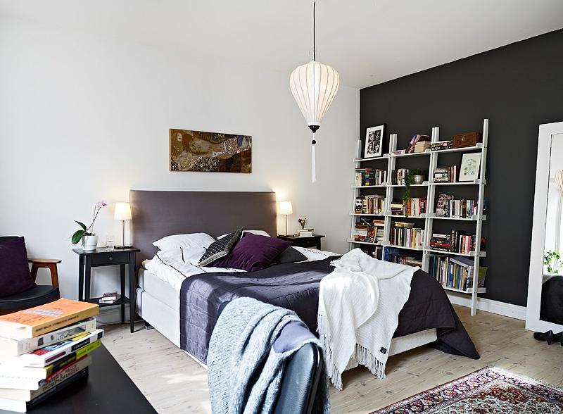 65米的北欧风格小户型卧室装修效果图大全图片