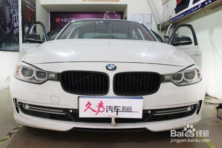 重庆宝马320li汽车音响改装,惠威高清图片