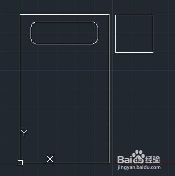 """在命令行输入""""m"""",将枕头,床头柜移动到图中位置,绘制完成.图片"""